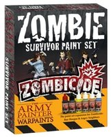 Zombicide - Zombie Surviver Paint Set Neu!2015