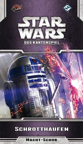 Das Kartenspiel LCG Schrotthaufen Star Wars Oppositions-Zyklus 4