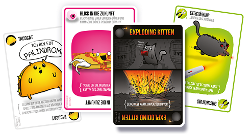 Exploding Kittens Deutsch