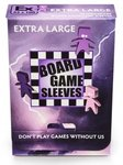 Board Games Sleeves - Non-Glare - Extra Large (65x100mm) - 50 Pcs