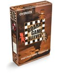 Board Games Sleeves - Non-Glare - Oversize (79x120mm) - 50 Pcs