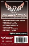 Mayday Premium Mini Chimera Game Sleeves • 43 x 65mm (red)
