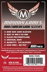 Mini Chimera Game Sleeves • 43 x 65mm (rot) 100 Stück