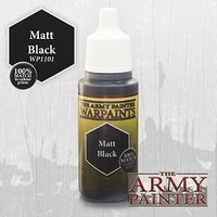 Army Painter Paint: Matt Black (18ml)