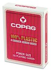 Poker Jumbo Index rot COPAG® 100% Plastik