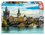 Puzzle View of Prague 2000 Teile