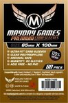 "Premium Magnum Copper Sleeves (80pcs) ""7 Wonders"" 65x100mm - 7106"